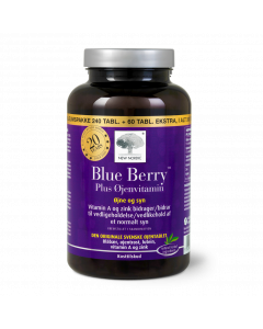 Blue Berry™ Plus Øjenvitamin - jubileumspakke 300 tabl.